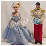 119a Barbie / Ken Cinderella & Prince Charming