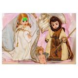 122a Madame Alexander Mary, Joseph & Jesus