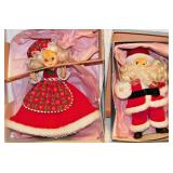 131 Madame Alexander Santa & Mrs. Claus