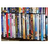 162 Seventy-Five DVDs Various Genres