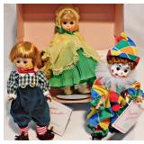 165a Three Madame Alexander Dolls