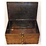 4 Vintage Lock Box w/ Keys