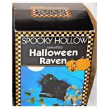 34b Animated Raven, Blue Tooth Pumpkin