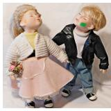 40A Geppeddo Kissing Dolls