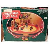 42a  Vintage Christmas Eve Ball MIB