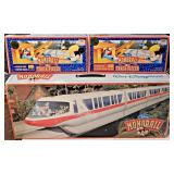 48a  Disney Monorail &Track Sets MIB