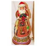 52a Jim Shore Christmas Musical Santa
