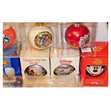 54a  18 Disney Christmas Tree Ornaments