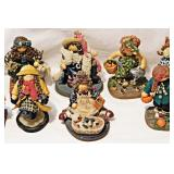 59b  Thirteen Lizzie High Figurines