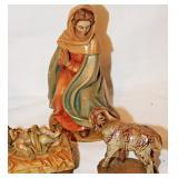 62a  Anri Toriart Holy Family & Lamb