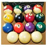 68a  Fourteen Vintage Pool Cues