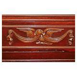 77  Vintage Mahogany Bureau