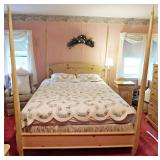 105 Cottage Style Pencil Post Bed