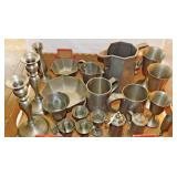 40b 20 Pieces Contemporary Pewter