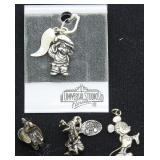 115a 3 Disney, Universal Sterling Charms