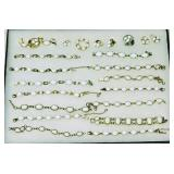 Lot 60 29 Pieces White Scarab Jewelry