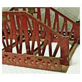 Lot 108 3 Sections Lionel #280 Pressed Steel Bridge