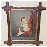 Lot 88 Oil On Board: George Richardson As Child c. 1870s