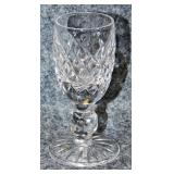 Lot 127 Six Waterford Cut Crystal Liqueurs