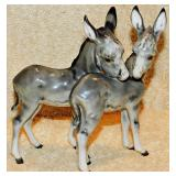 #18a Hutschenreuther Donkey Figural Grouping