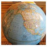#19  Retro National Geographic Globe On Stand