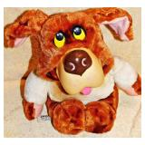 #21b 1965 Mattel Bernie The Bernard Pull String Plush