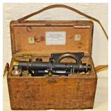 #22  1926 Keuffel & Esser Transit In Original Wood Case
