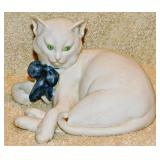 #22a Cappe Figurine: Bisque Cat