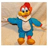 #24b Vintage Mattel Woody Woodpecker Pull String Toy