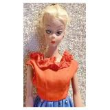 #25b  Original German Bild Lilli Doll w/ Outfit