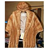 #27  Mink Full Stole w/ Matching Cap by Ozan Reading, PA