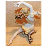 #28a  Large Hutschenreuther Dancer Figurine