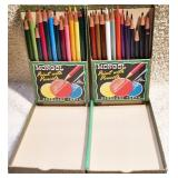 #28b  Mongol Colored Pencils & Marshall
