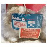 #40b  Allied Radio Pal Vintage Dog Soft Toy
