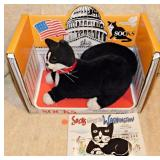 #42a  Socks The White House Cat Stuffed Animal MIB Plus