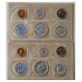 #42b  Two 1964 US Mint Proof Sets