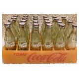 #45  Miniature Case Coca-Cola Bottles In Plastic Crate