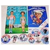 #48a  1980, 1984 Presidential Campaign Items