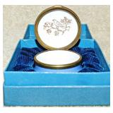 #52a  Bilston & Battersea Halcyon Days Enamel Box
