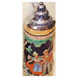 #63b  Three Vintage German Steins