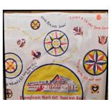 #96  Vintage Framed PA Dutch Gift Haus Shopping Bag
