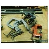 #4a Fourteen C Clamps