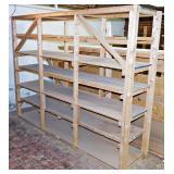 #6 Wood Storage Rack Or Shelving