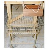 #18a Shop Cart, Poplar Tool Caddy