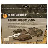 #26 Black & Decker Router & Router Guide