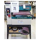 """#36 Grizzly 18"""" Open End Drum Sander w/ Accessories"""
