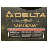 #39 Delta Unisaw w/ Extensions Tables, Accessories