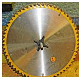 """#41 Ten 7/8"""" Arbor Used Table Saw Blades"""