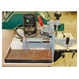#48 Delta Plate Joiner On Metal Stand