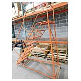 Rolling Safety Shop Ladder